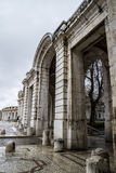 Église de San Antonio, héritage de l'humanité, jardins de l'isla photos libres de droits