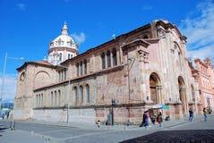 Église de San Blas - Cuenca – l'Equateur Photo libre de droits