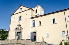 Église de San Francesco, Massa Lubrense, Italie photo stock