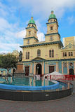 Église de San Francisco à Guayaquil, Equateur Photo stock