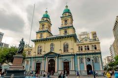 Église de San Francisco à Guayaquil, Equateur Images libres de droits