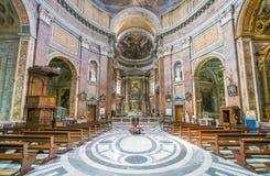 Église de San Giacomo à Augusta, à Rome, l'Italie photos stock