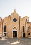 Église de San Giovanni dans Bragora photo stock
