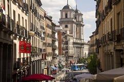 Église de San Isidro à Madrid, Espagne Images stock