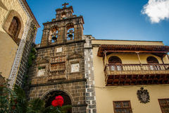 Église de San Juan Bautista, La Orotova, Ténérife Photo stock