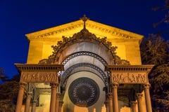 Église de San Leopoldo dans Follonica, Italie Images stock