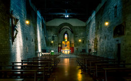 Église de San Michele à Arezzo, Toscane Photo stock