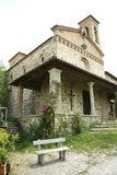 Église de San Miniato dans Sicelle (Toscane, Italie) photo stock