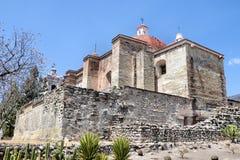 Église de San Pablo, Mitla Photographie stock libre de droits