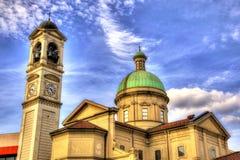 Église de San Vitale dans Chiasso Images libres de droits