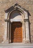 Église de sanctuaire de St Francesco. Lucera. La Puglia. l'Italie. Photos libres de droits