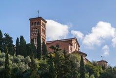 Église de Sant'Anselmo, Rome Images libres de droits