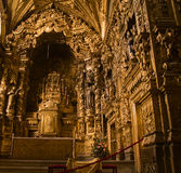 Église de Santa Clara, Portugal images stock