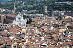 Église de Santa Croce à Florence Photos libres de droits