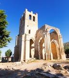 Église de Santa Eulalia dans Palenzuela Images stock
