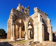Église de Santa Eulalia dans Palenzuela Image libre de droits