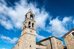 Église de Santa Maria del Azogue à Puebla de Sanabria photographie stock