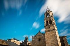 Église de Santa Maria del Azogue à Puebla de Sanabria photos stock