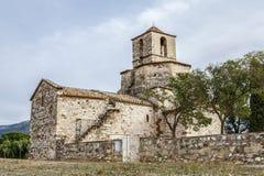 Église de Santa Maria del Puig, Esparreguera Images libres de droits