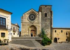 Église de Santa Maria della Consolazione, Altomonte Photographie stock libre de droits