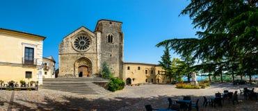 Église de Santa Maria della Consolazione, Altomonte Photo libre de droits