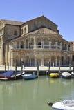 Église de Santa Maria e San Donato en île de Murano Photographie stock libre de droits