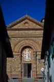 Église de Santa Maria, Panzano dans Chianti, Toscane 1 photos libres de droits