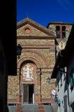 Église de Santa Maria, Panzano dans Chianti, Toscane 2 images libres de droits