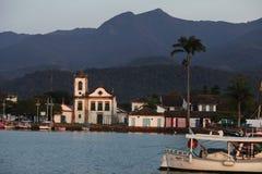 Église de Santa Rita, Paraty image libre de droits