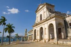 Église de Santisima Trinidad, Trinidad, Cuba Images stock