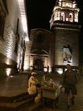 Église de Santo Domingo images libres de droits