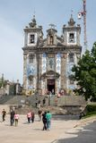 Église de Santo Ildefonso, Porto photos stock