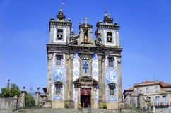 Église de Santo Ildefonso, Porto Photos libres de droits