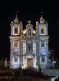 Église de Santo Ildefonso, Portugal image stock