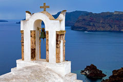 Église de Santorini Images stock