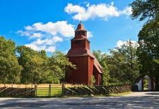 Église de Seglora dans Skansen photos stock