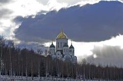 Église de Sergius Radonezhskiy, Russie Photo stock