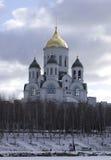 Église de Sergius Radonezhskiy, Russie Images libres de droits