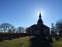 Église de soleil Photo libre de droits