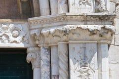 Église de St Agostino. Amelia. L'Ombrie. L'Italie. Image libre de droits