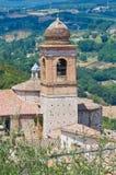 Église de St Agostino. Amelia. L'Ombrie. L'Italie. Photos stock