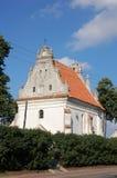 """Église de St Anna de la Renaissance dans Konskowola (skowola de """"de KoÅ), Pologne Photos stock"""