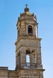 Église de St Annunziata. Sant'Agata di Puglia. La Puglia. L'Italie. image stock