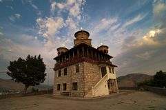Église de St Arkhangel dans Trebinje, Bosnie-Herzégovine photographie stock