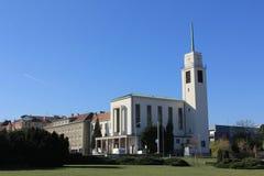 Église de St Augustin à Brno, République Tchèque photo stock
