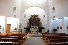 Église de St Bartholomew dans Leutershausen, Allemagne photographie stock