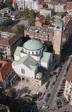 Église de St Blaise à Zagreb Photographie stock libre de droits