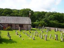 Église de St Catherine, Eskdale, secteur de lac Photographie stock