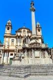 Église de St Dominic, Palerme, Sicile, Italie Image libre de droits
