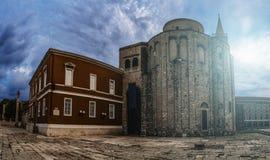Église de St Donatus dans Zadar, Croatie Photos libres de droits